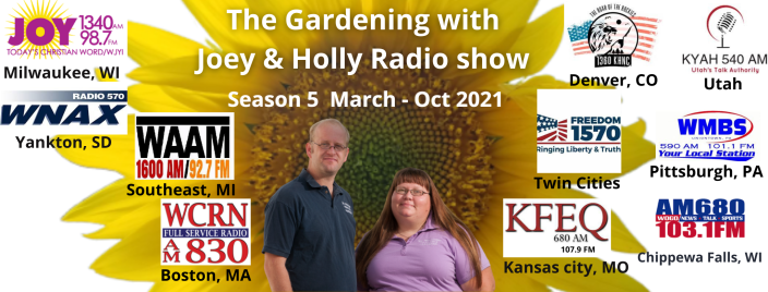 The Gardening with Joey & Holly Radio show (4)