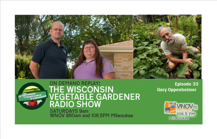 Radio the wisconsin vegetable gardener their guest master gardener horticultural educator media expert william moss of httpgetoutandgrow and questions from listeners plus callers fandeluxe Images