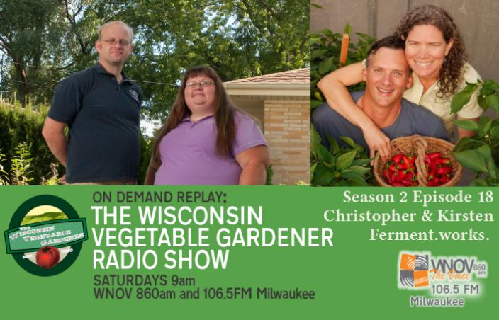 Radio the wisconsin vegetable gardener s2e18 weeds you can eat back to eden gardening christopher kirsten of ferments twvgrs fandeluxe Images