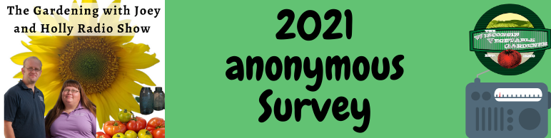 2021 anonymous Survey